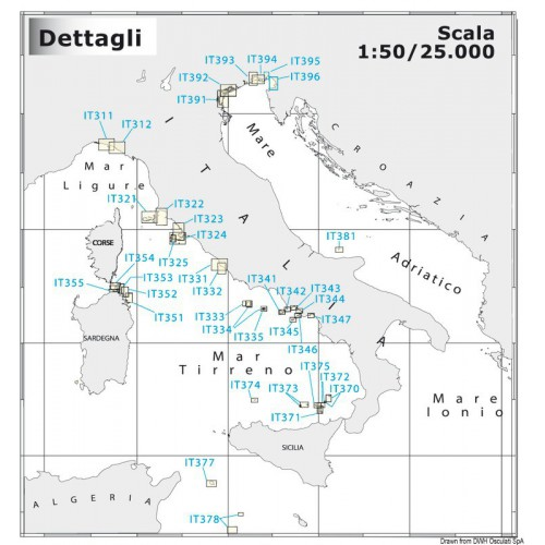 Carte Navimap IT050-P3
